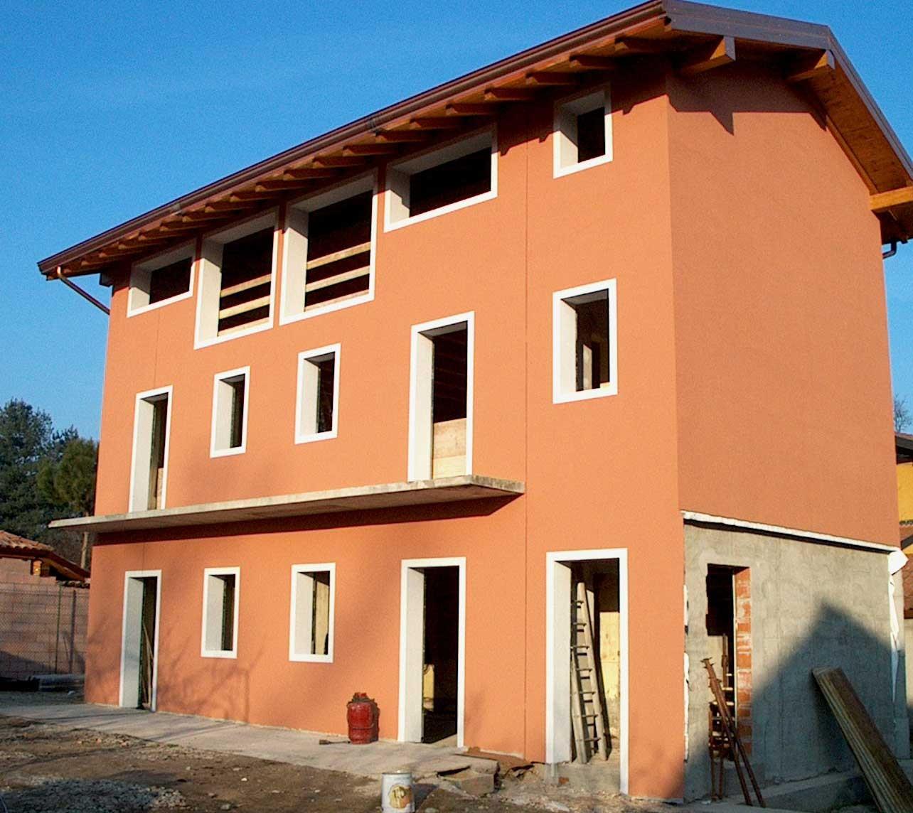 Cappotto esterno fapas spa materiali per edilizia with - Esterno casa colore ...