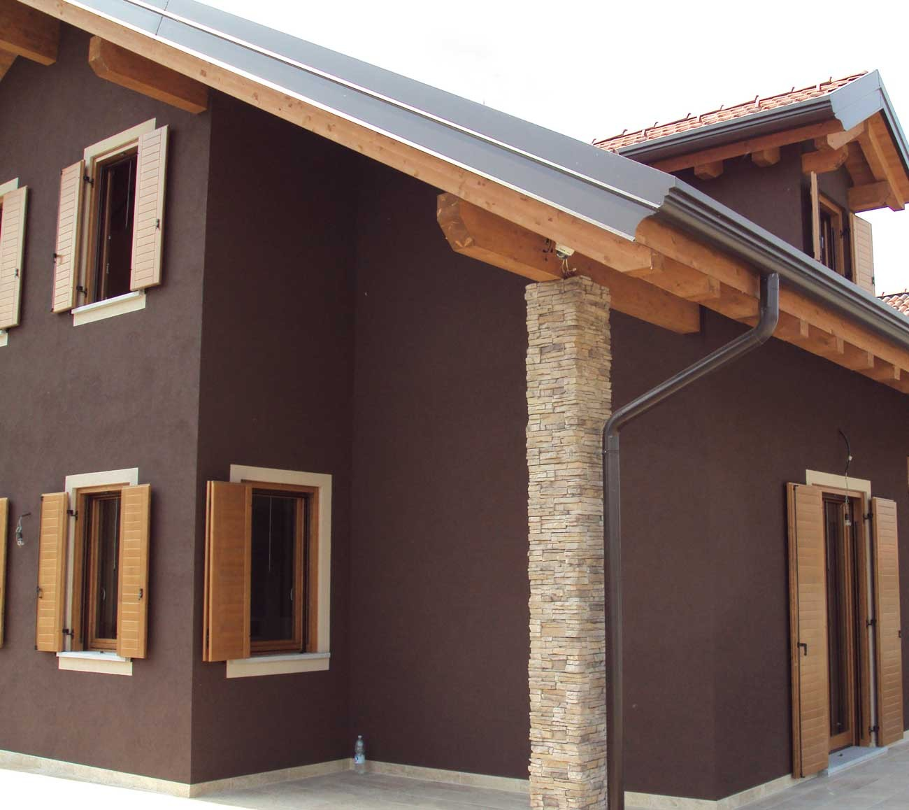 Cappotto esterno fapas s p a materiali per edilizia - Colori per esterno casa foto ...
